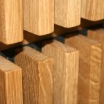 Akustikverkleidung, Akustikdecke und Lamellendeckenleisten aus Holz
